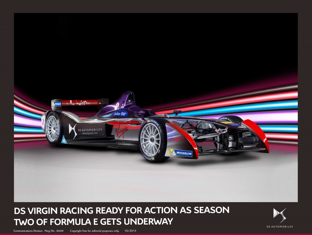 DS VIRGIN RACING READY FOR ACTION AS SEASON TWO OF FORMULA E GETS UNDERWAY
