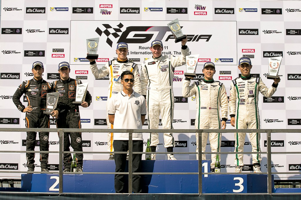 Bentley Team Absolute_Round 10 Podium