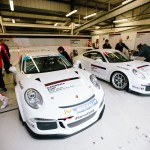 2016/17 PORSCHE CARRERA CUP GB SCHOLARSHIP FINALISTS PUT TO THE TEST